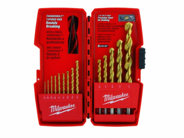 Milwaukee 48-89-0011<br>Ensemble 14Pcs mèches Titanium